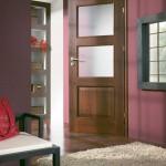 Интериорни врати Порта НОВА, модел 4.3, синтетично покритие (фолио), цвят на покритието ОРЕХ