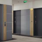 Метални входни врати за апартамент - серия Стийл Сейф